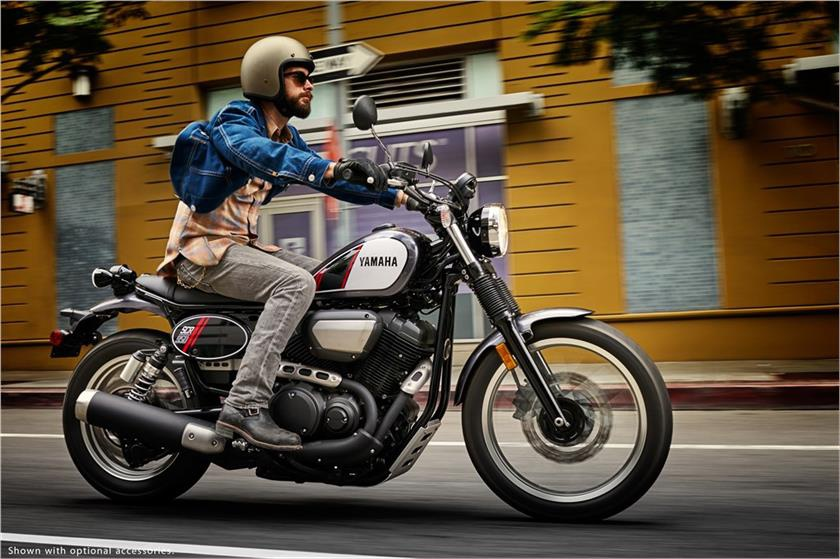 Yamaha ra mat xe hoai co thach thuc Ducati Scrambler hinh anh 1