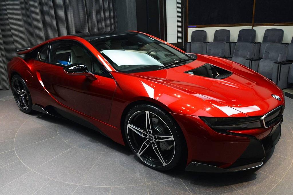 BMW i8 doc nhat vo nhi cua cong chua Abu Dhabi hinh anh 2