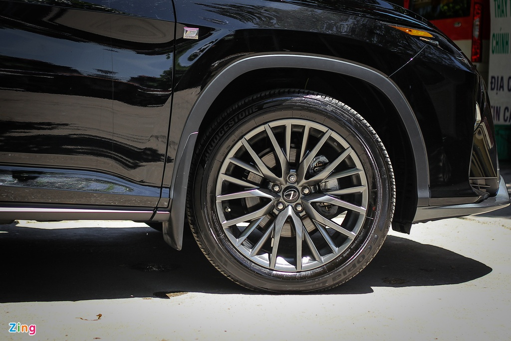 Chi tiet Lexus RX350 F-Sport 2016 tai Ha Noi hinh anh 5