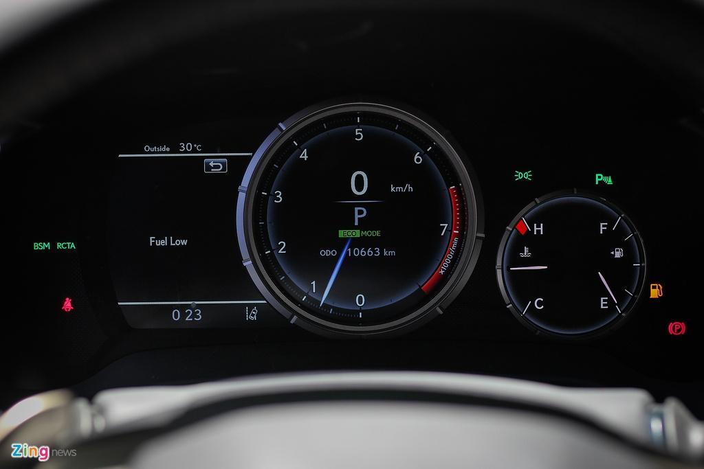 Chi tiet Lexus RX350 F-Sport 2016 tai Ha Noi hinh anh 9