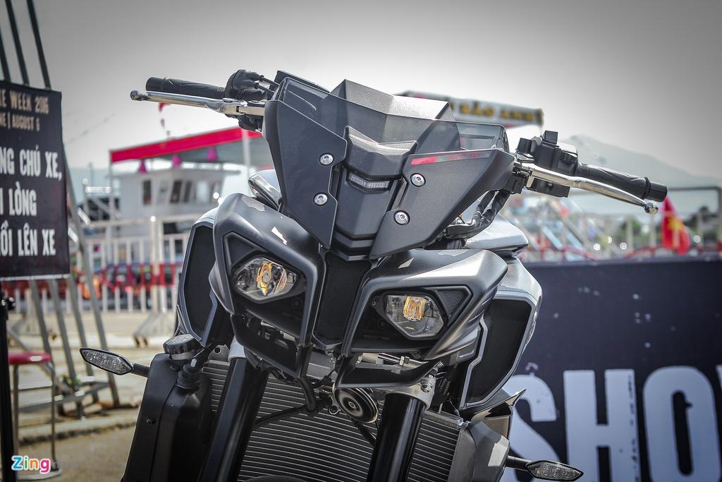 Can canh moto 1.000 phan khoi Yamaha MT-10 moi ve Viet Nam hinh anh 4