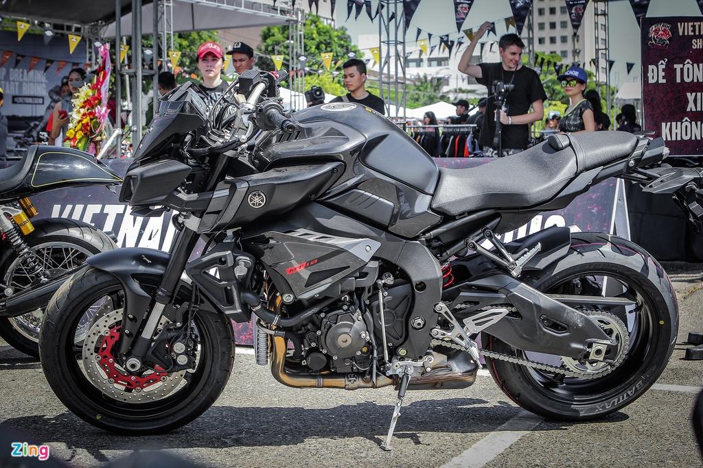 Can canh moto 1.000 phan khoi Yamaha MT-10 moi ve Viet Nam hinh anh 1