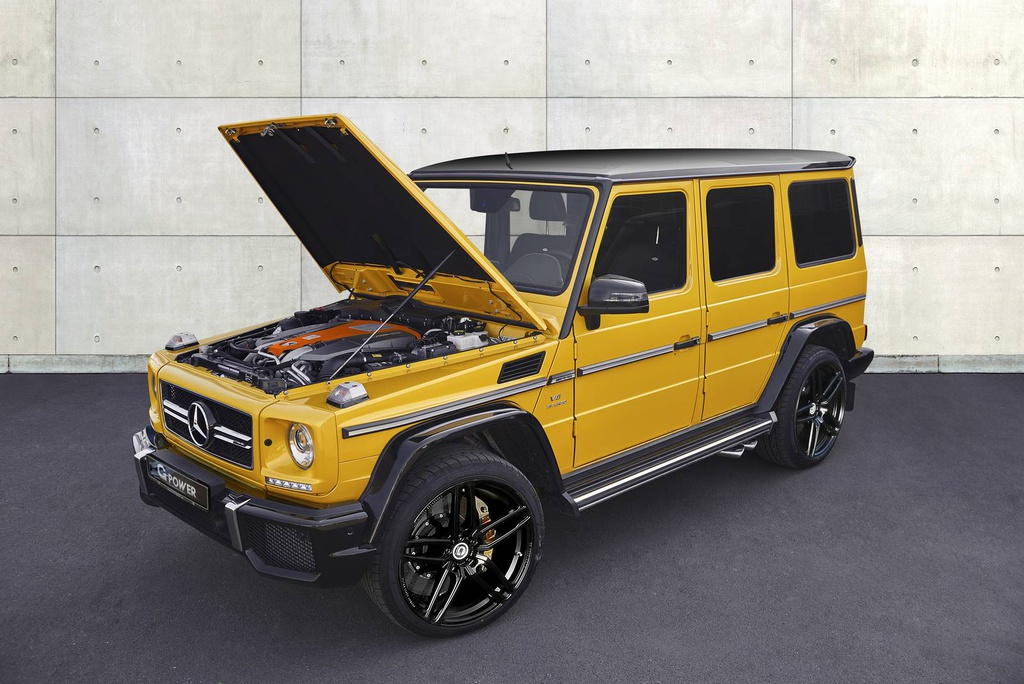 Mercedes-Benz G63 AMG do cong suat 645 ma luc hinh anh 1