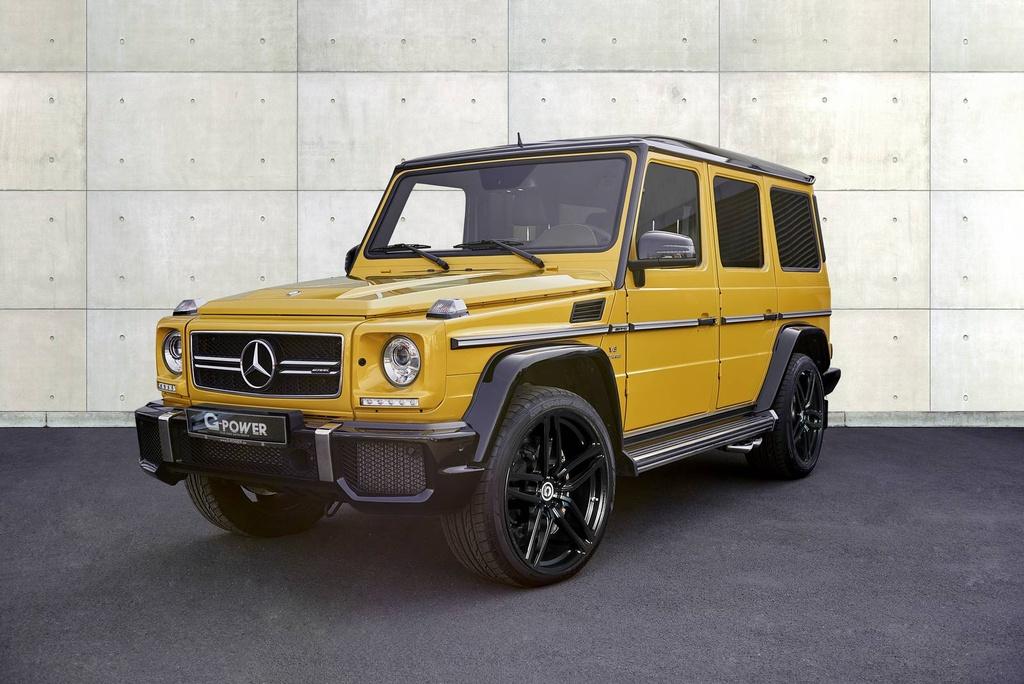 Mercedes-Benz G63 AMG do cong suat 645 ma luc hinh anh 2