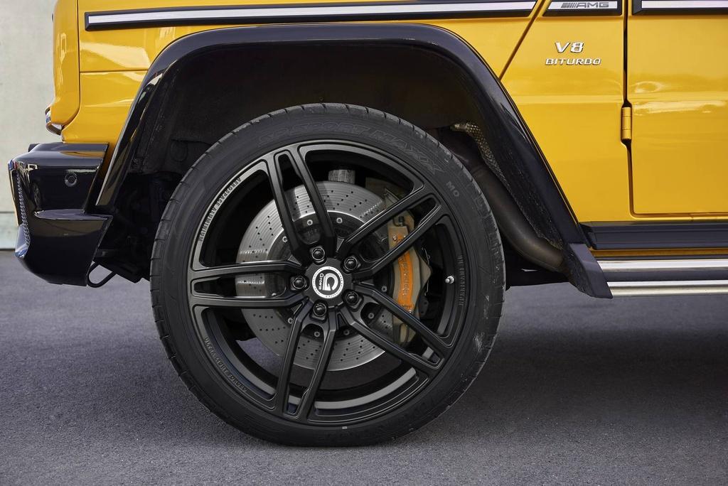 Mercedes-Benz G63 AMG do cong suat 645 ma luc hinh anh 3