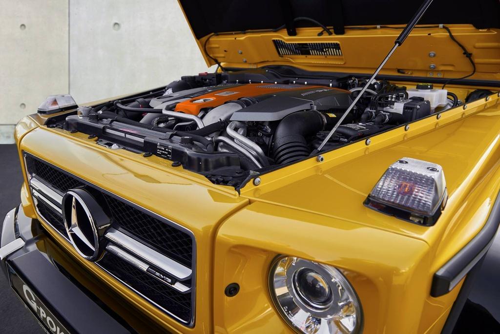 Mercedes-Benz G63 AMG do cong suat 645 ma luc hinh anh 4