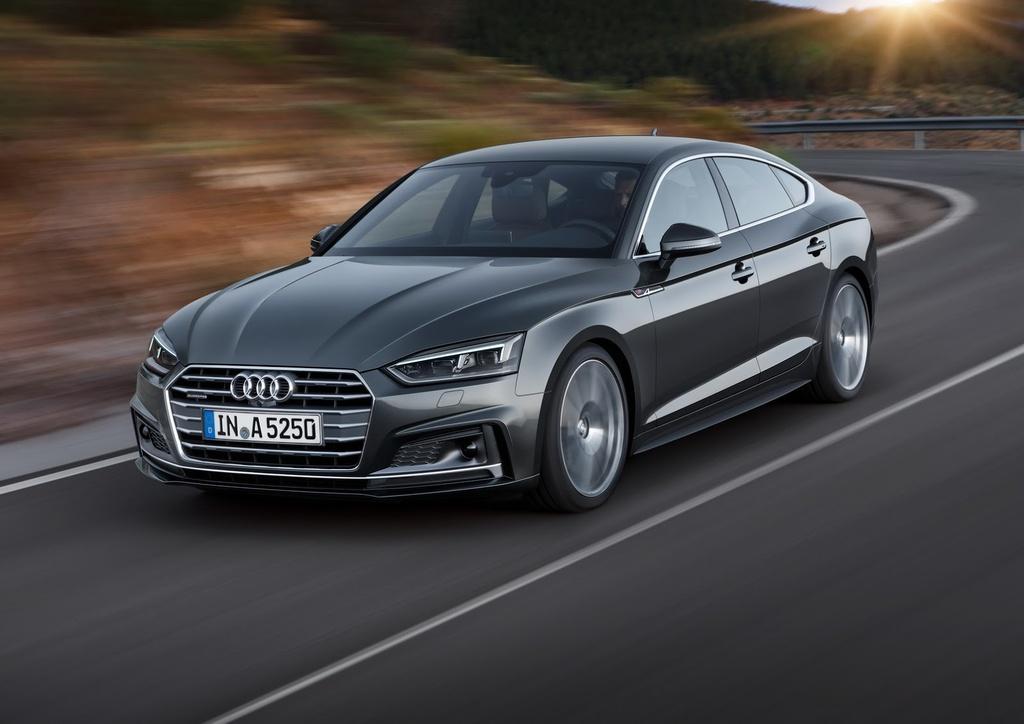 Audi A5, S5 Sportback 2017 trinh lang hinh anh 1