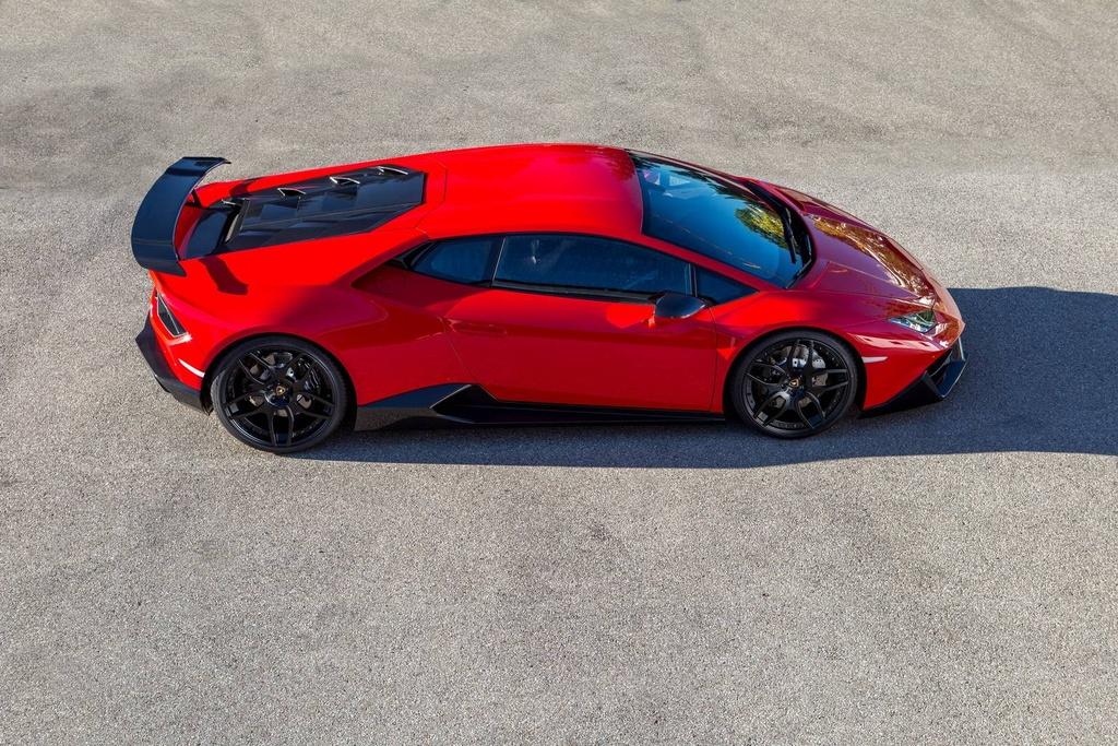 Lamborghini Huracan cau sau do anh 4
