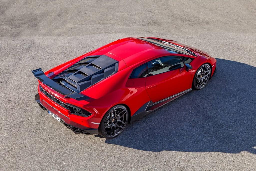 Lamborghini Huracan cau sau do anh 3