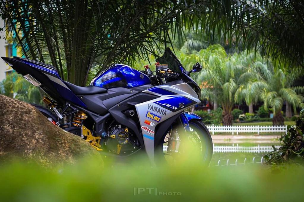 Yamaha YZF-R3 len nhieu do choi cua biker Viet hinh anh 3