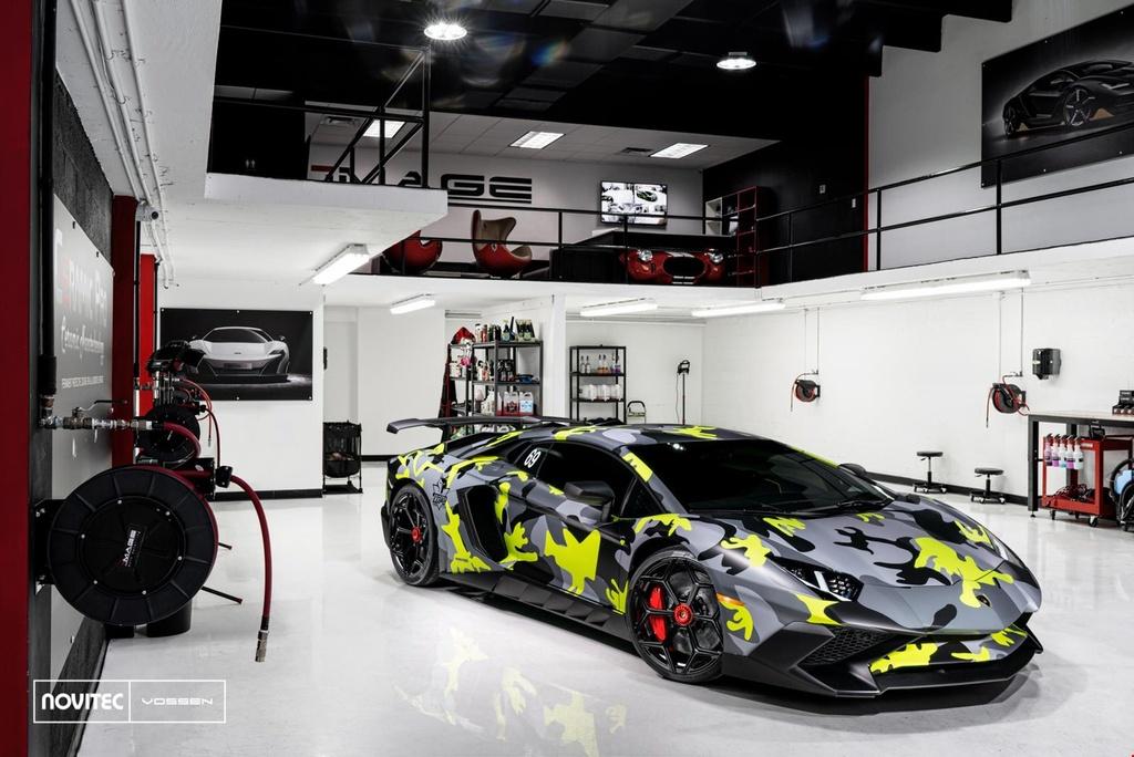 Lamborghini Aventador SV thay dien mao, do cong suat hinh anh 1