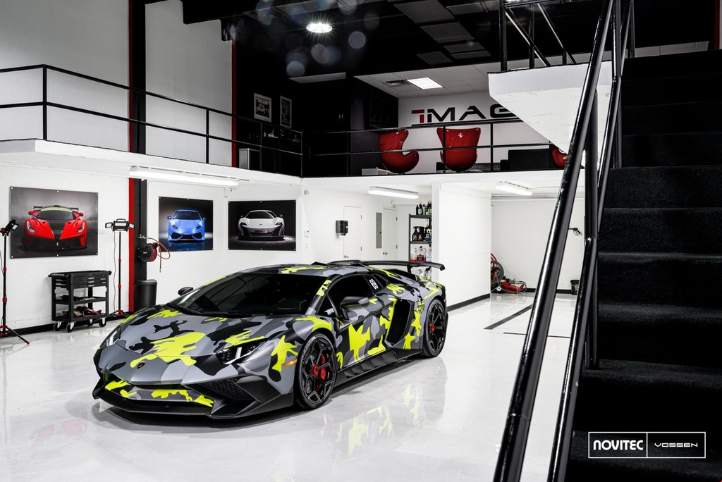 Lamborghini Aventador SV thay dien mao, do cong suat hinh anh 2