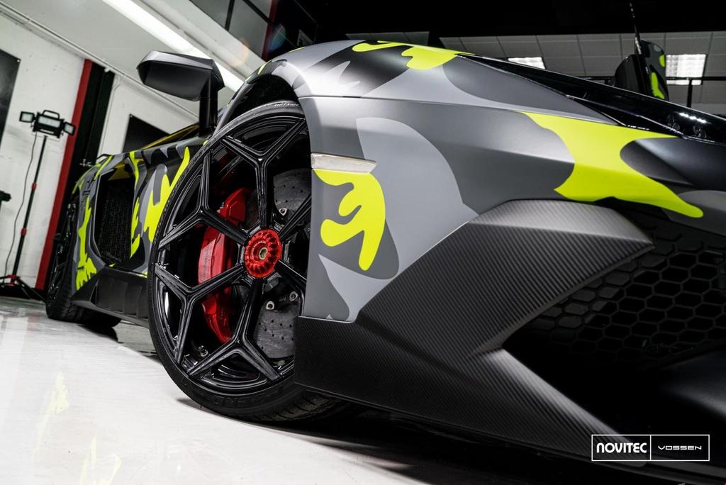 Lamborghini Aventador SV thay dien mao, do cong suat hinh anh 5