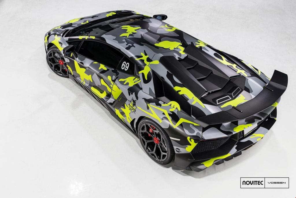 Lamborghini Aventador SV thay dien mao, do cong suat hinh anh 3