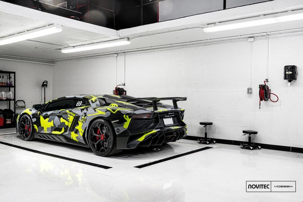Lamborghini Aventador SV thay dien mao, do cong suat hinh anh 4
