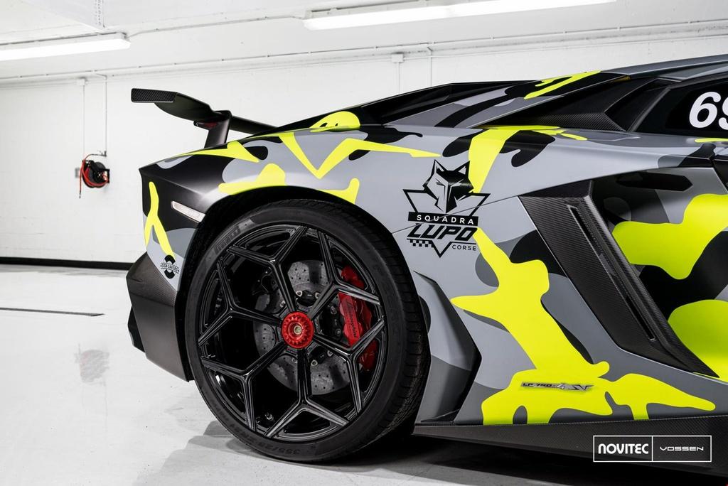 Lamborghini Aventador SV thay dien mao, do cong suat hinh anh 6