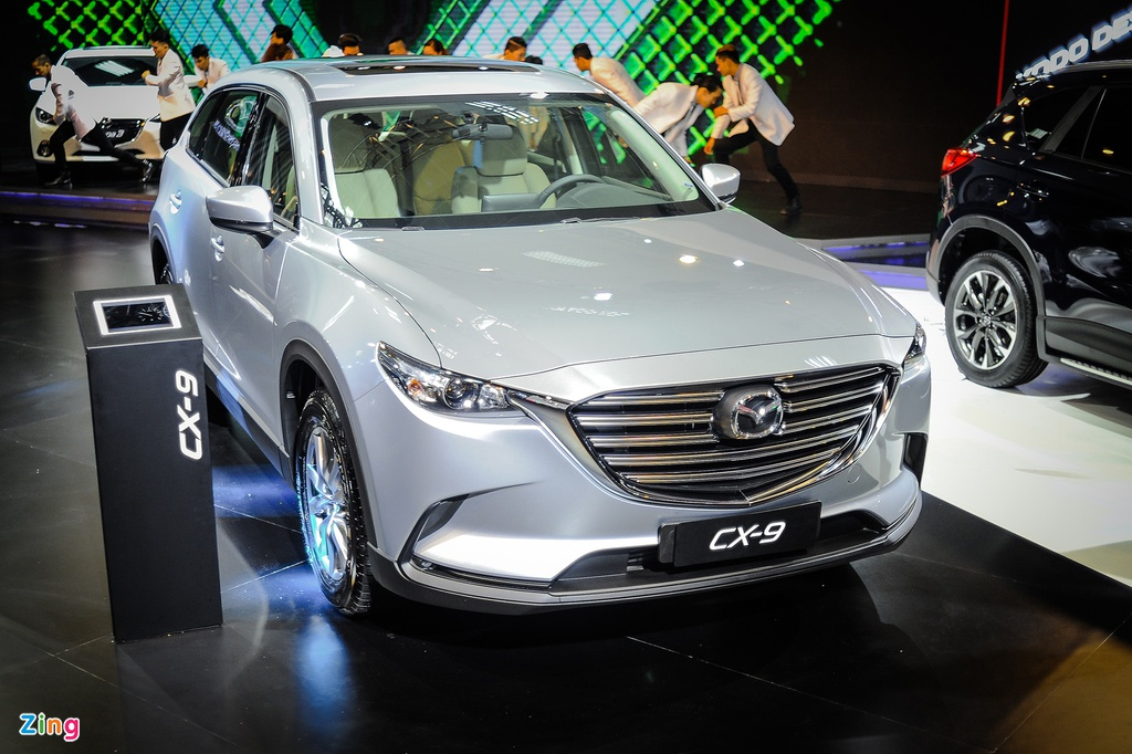 CX-9 2016 - SUV cao cap nhat cua Mazda den Viet Nam hinh anh 1