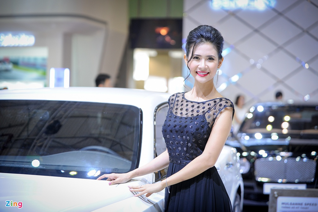 Trien lam Vietnam International Motors Show 2016 anh 2