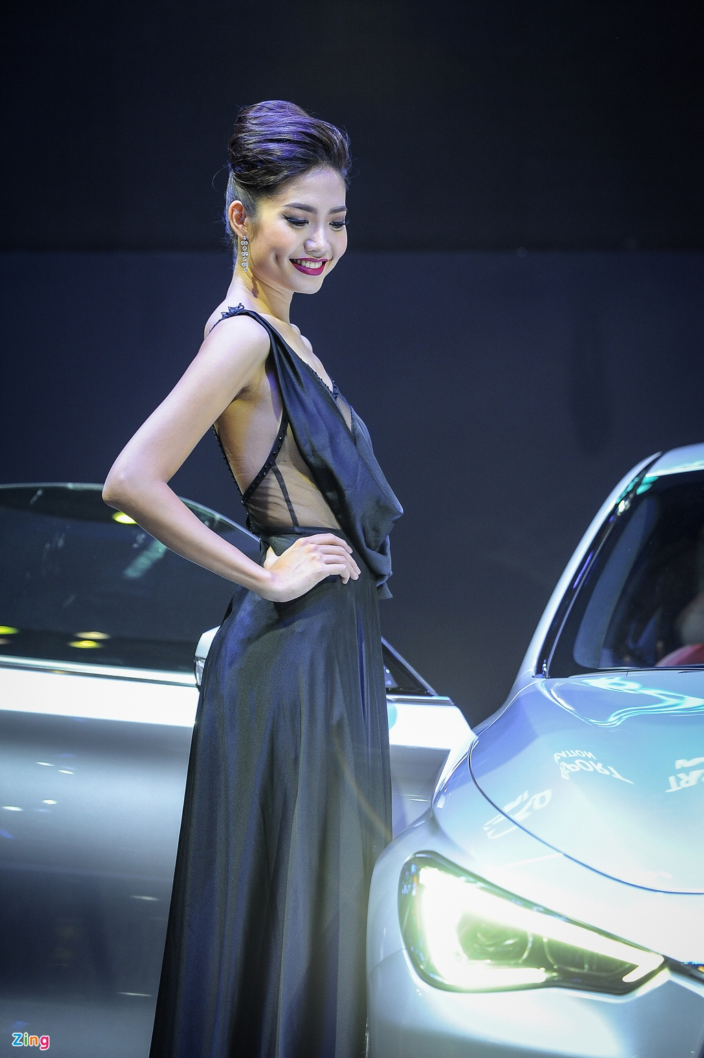 Trien lam Vietnam International Motors Show 2016 anh 9