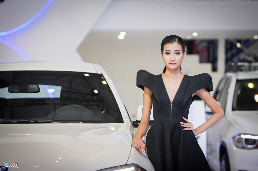 Trien lam Vietnam International Motors Show 2016 anh 10