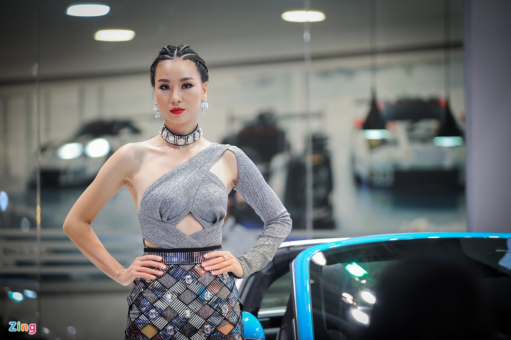 Trien lam Vietnam International Motors Show 2016 anh 4
