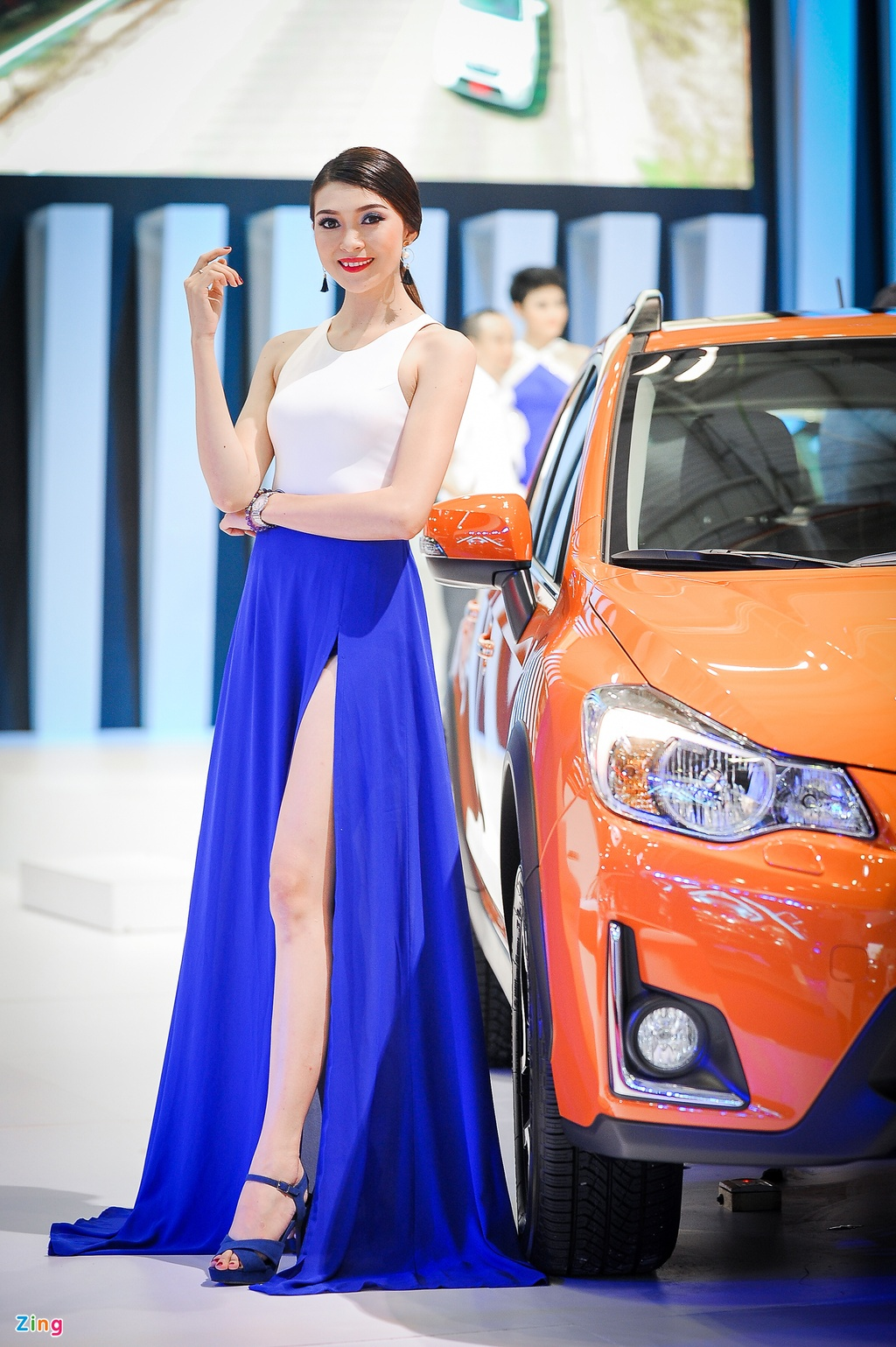 Trien lam Vietnam International Motors Show 2016 anh 5