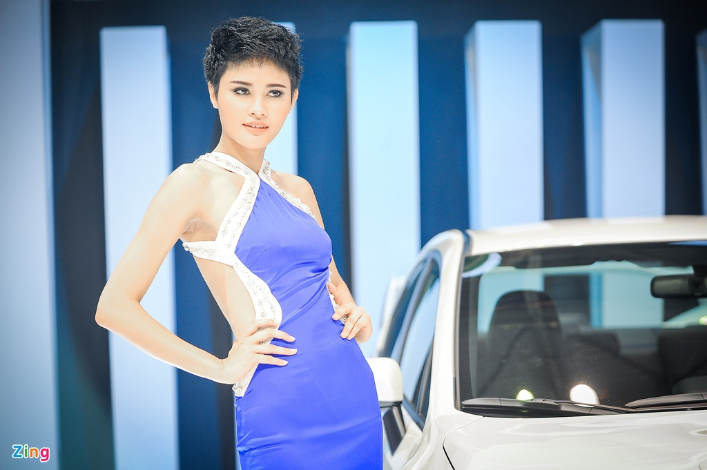 Trien lam Vietnam International Motors Show 2016 anh 6