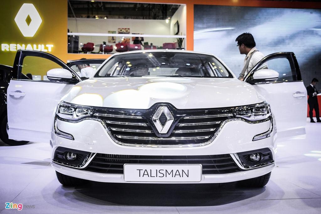 Renault Talisman - sedan Phap gia 1,5 ty tai Viet Nam hinh anh 3