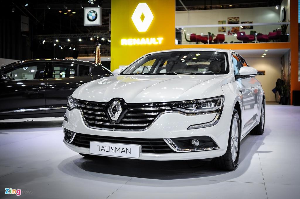 Renault Talisman - sedan Phap gia 1,5 ty tai Viet Nam hinh anh 1