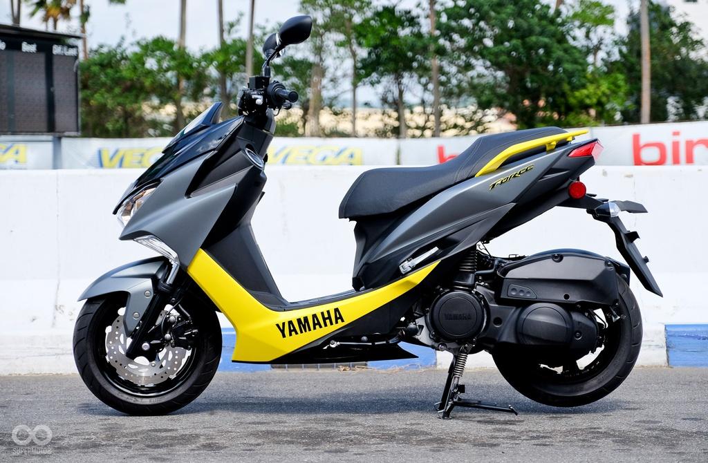 xe tay ga Yamaha Force 2017 ra mat anh 2