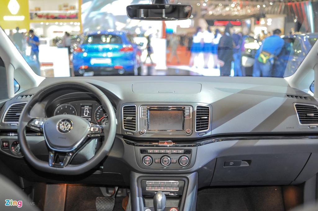 Volkswagen Sharan 7 cho gia gan 2 ty tai Viet Nam hinh anh 6