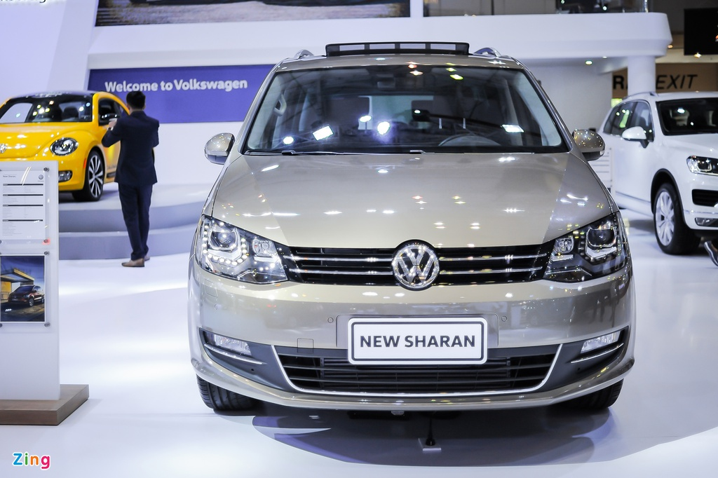 Volkswagen Sharan 7 cho gia gan 2 ty tai Viet Nam hinh anh 1