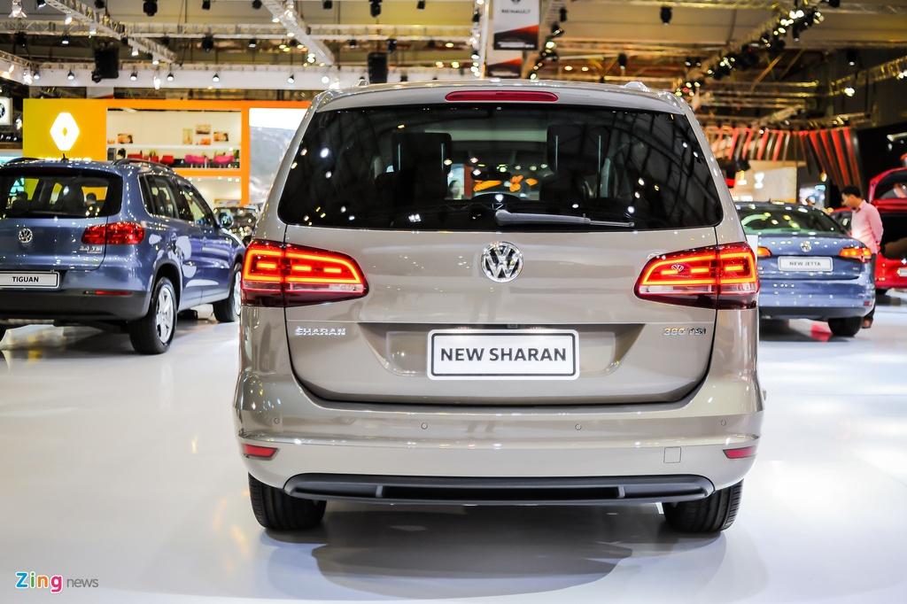 Volkswagen Sharan 7 cho gia gan 2 ty tai Viet Nam hinh anh 3