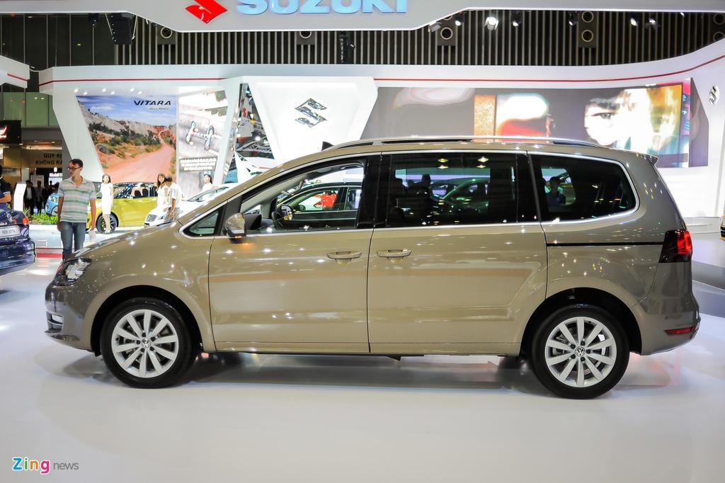 Volkswagen Sharan 7 cho gia gan 2 ty tai Viet Nam hinh anh 2