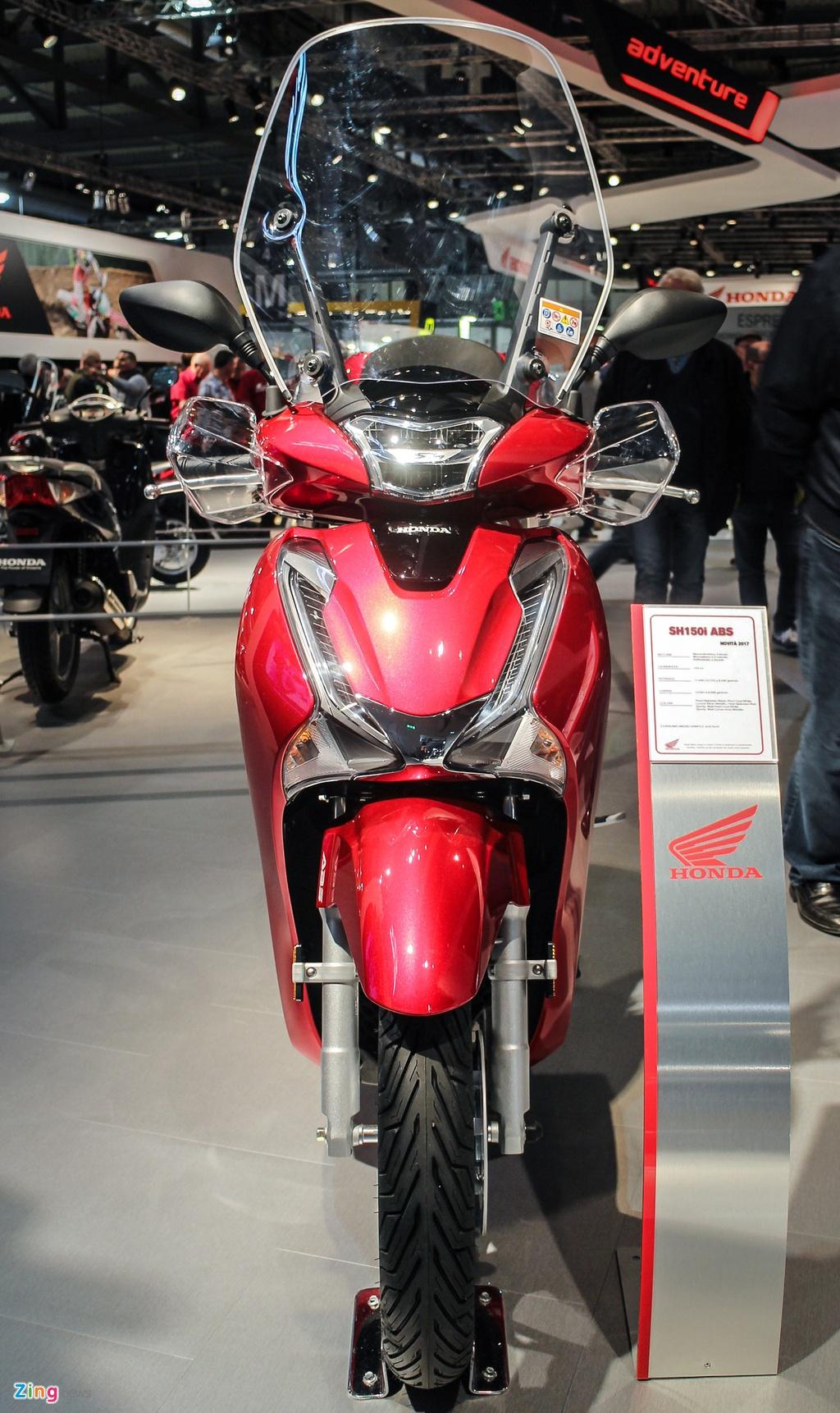 Honda SH 125i 2017 chau Au anh 1