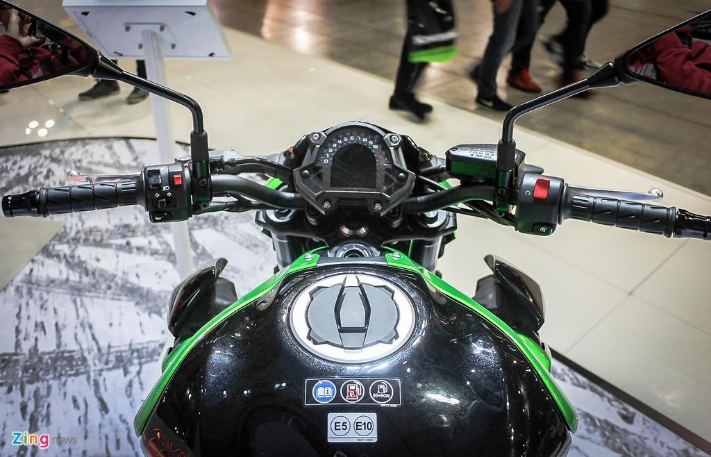 Kawasaki Z900 trinh lang, thay the Z800 hinh anh 5