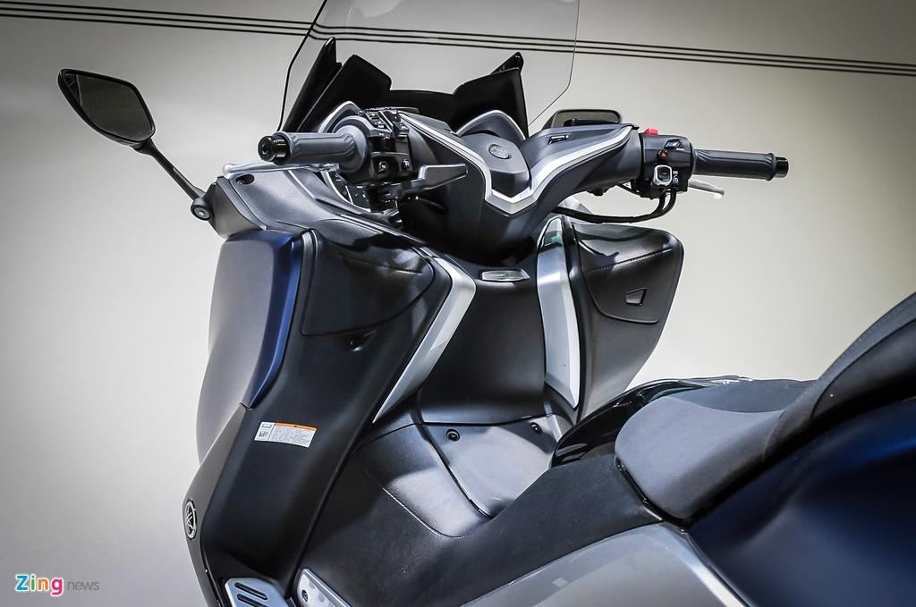 Yamaha trinh lang TMAX 2017 - xe tay ga 530 phan khoi hinh anh 3