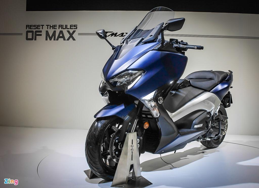 Yamaha trinh lang TMAX 2017 - xe tay ga 530 phan khoi hinh anh 1