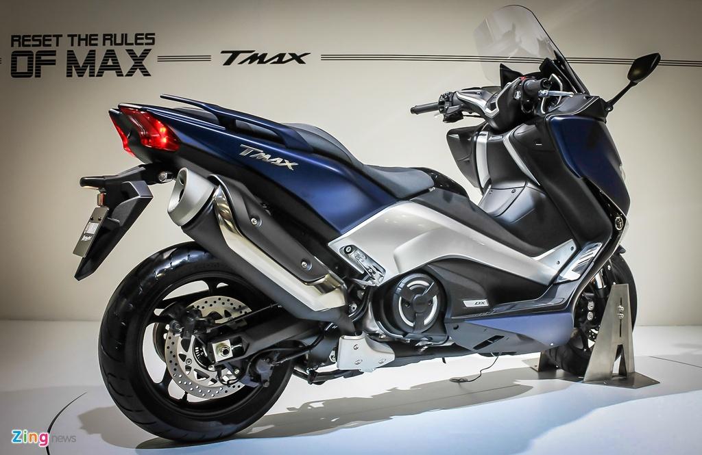 Yamaha trinh lang TMAX 2017 - xe tay ga 530 phan khoi hinh anh 5