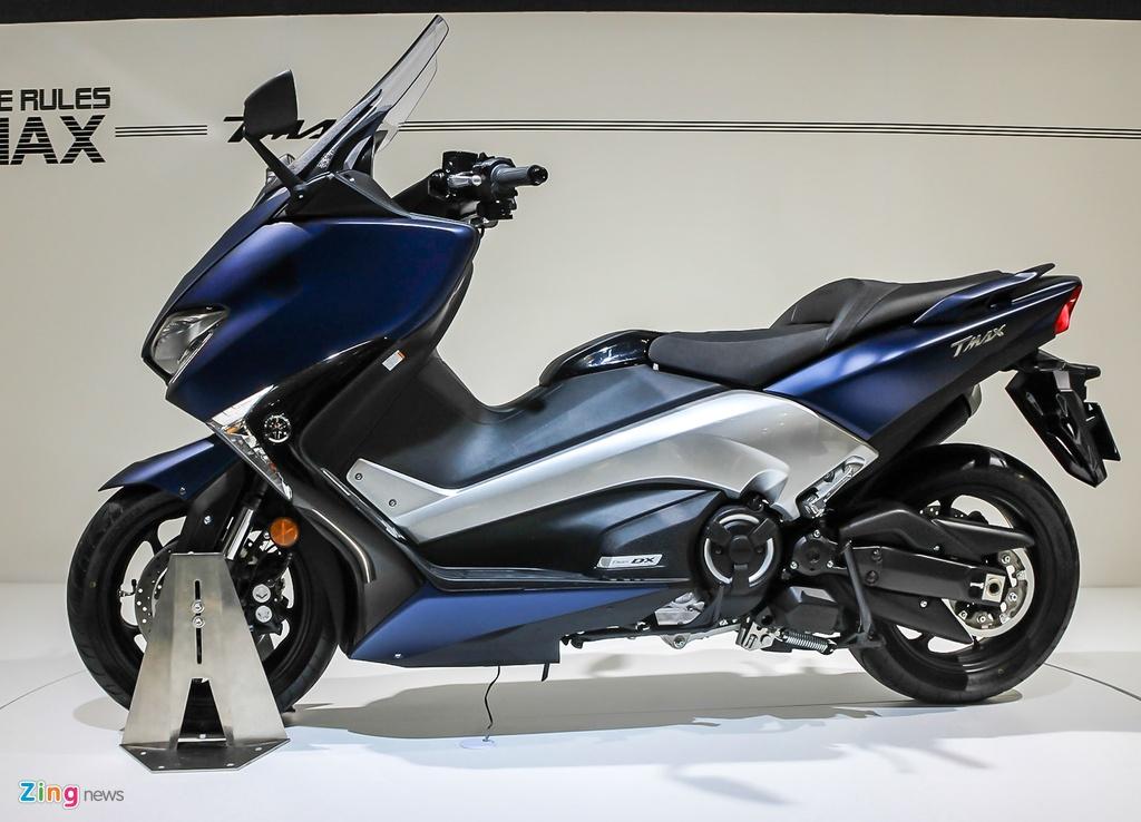 Yamaha trinh lang TMAX 2017 - xe tay ga 530 phan khoi hinh anh 2