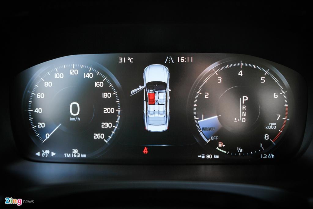 Volvo S90: Gia hon 2 ty, canh tranh E-Class tai VN hinh anh 9