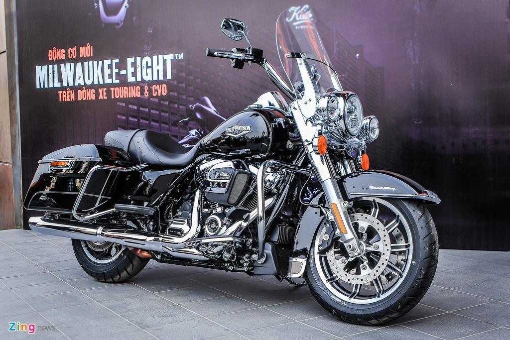 Harley-Davidson Road King 2017 gia hon 1 ty tai Ha Noi hinh anh 1