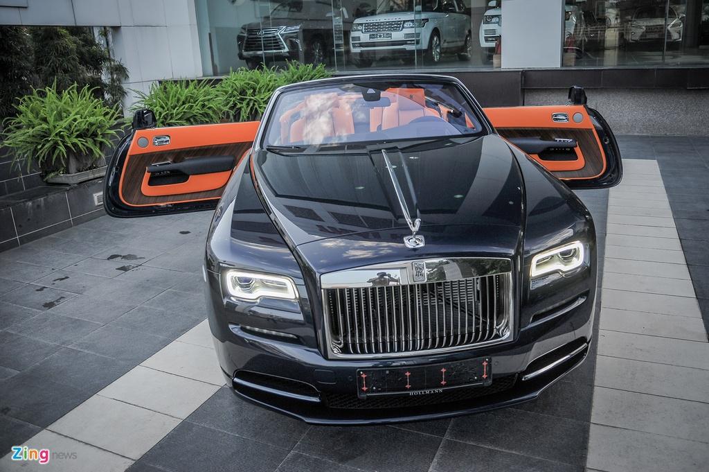 Rolls-Royce Dawn doc nhat Viet Nam anh 11