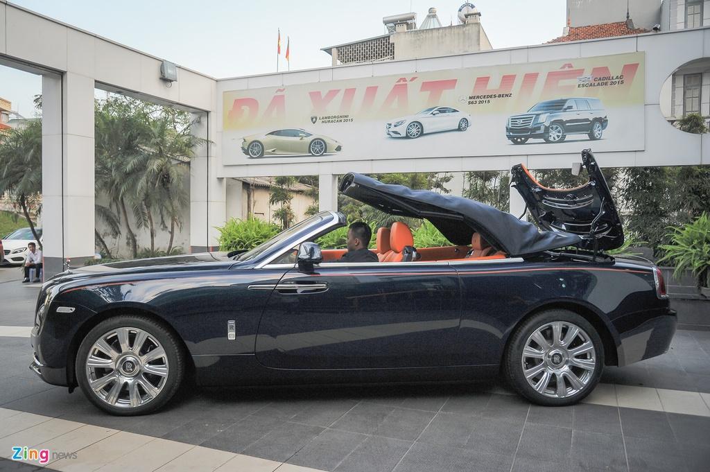 Rolls-Royce Dawn doc nhat Viet Nam anh 3
