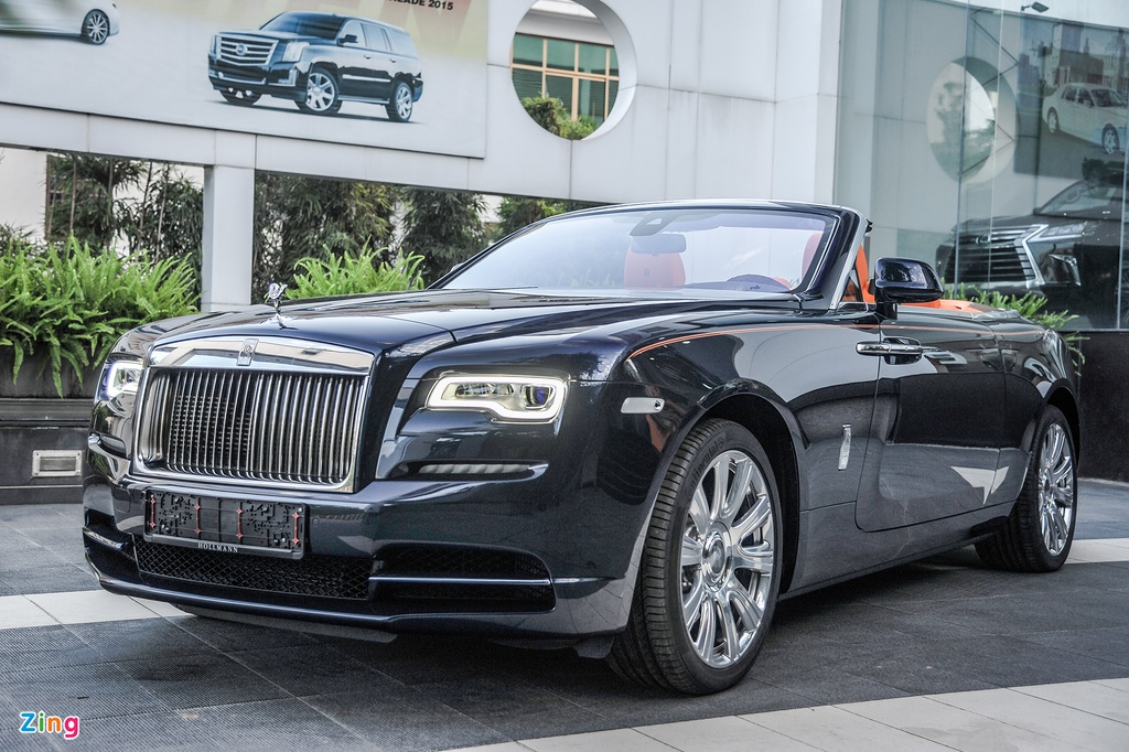 Rolls-Royce Dawn doc nhat Viet Nam anh 1