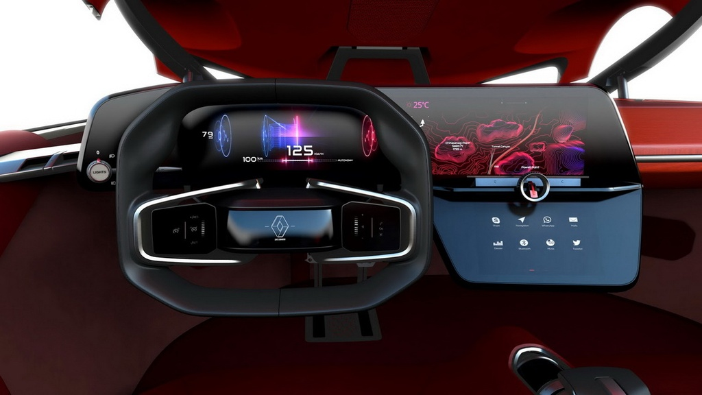 Renault Trezor - xe concept cua tuong lai hinh anh 4