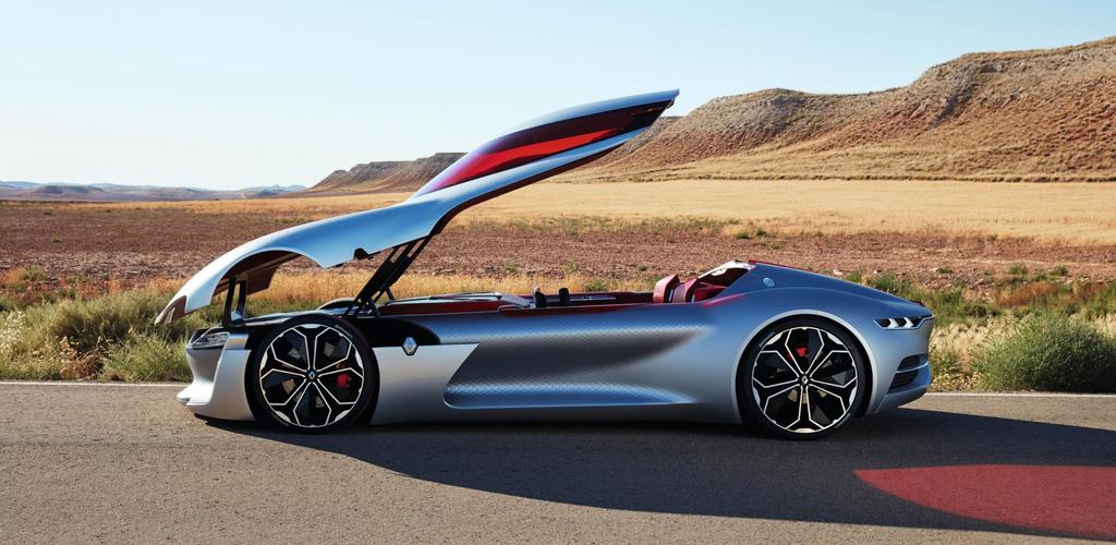 Renault Trezor - xe concept cua tuong lai hinh anh 2