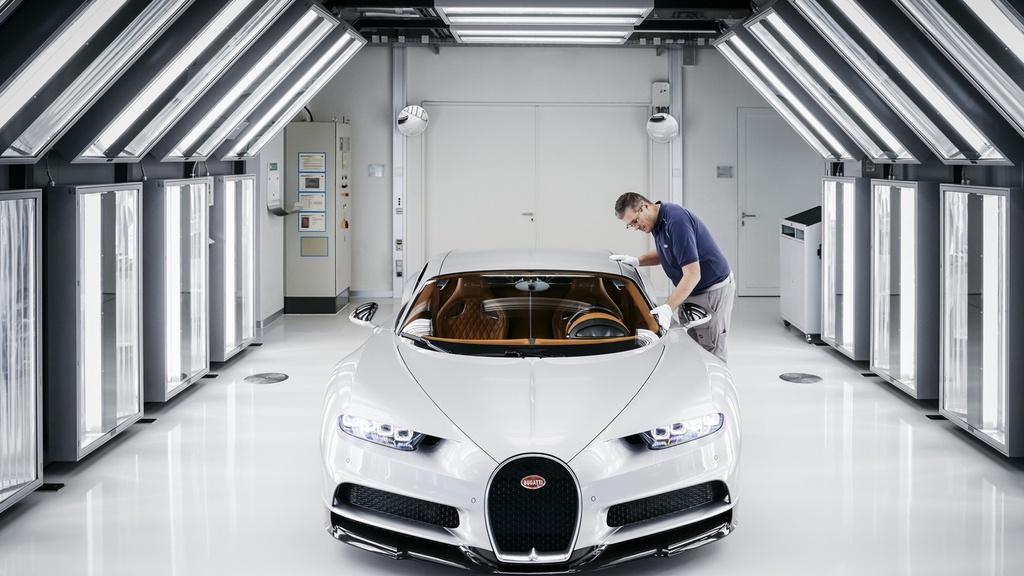 noi san xuat Bugatti Chiron anh 2