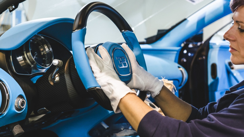 noi san xuat Bugatti Chiron anh 12