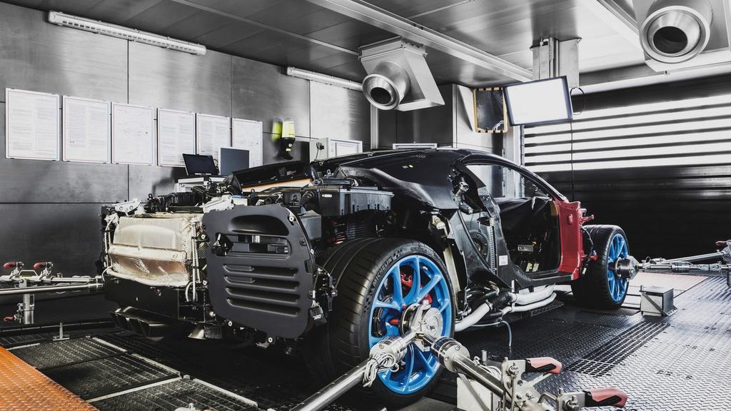 noi san xuat Bugatti Chiron anh 6